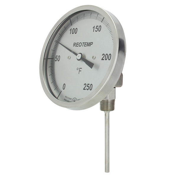 REOTEMP's Bimetal Thermometers Dial 4