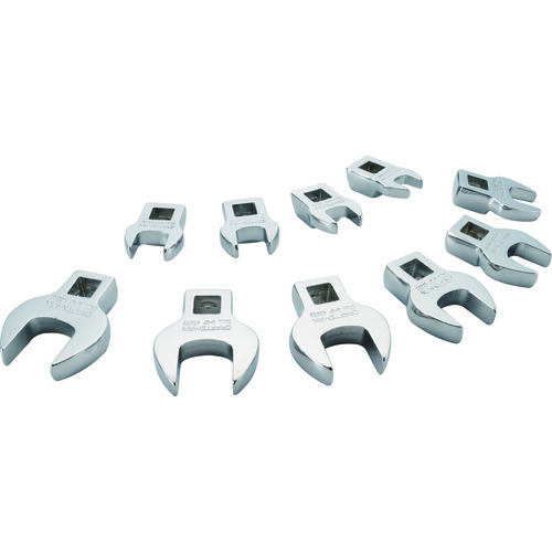 10 PC. METRIC CROWFOOT WRENCH SET